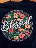 Blessed No Matter the Name Southernology Comfort Color Tee