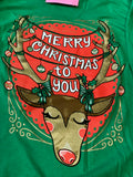 Merry Christmas to You Reindeer Long Sleeve Tee