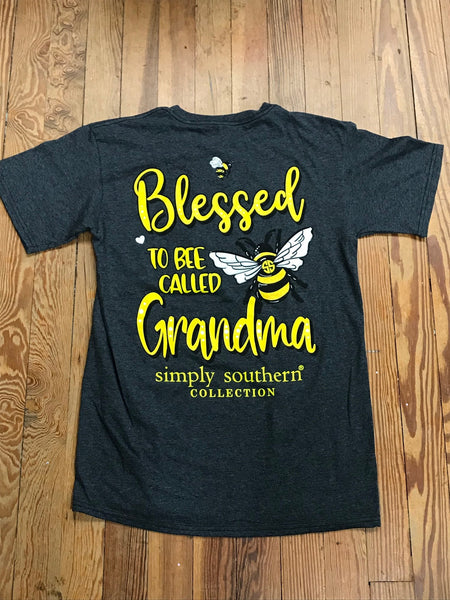 Blessed to Bee Called Grandma Simply Southern Tee