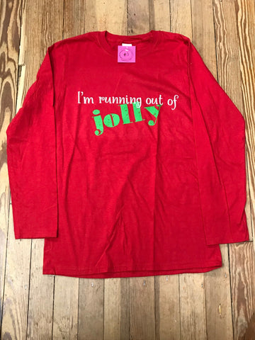 I'm Running Out of Jolly Soft Tee