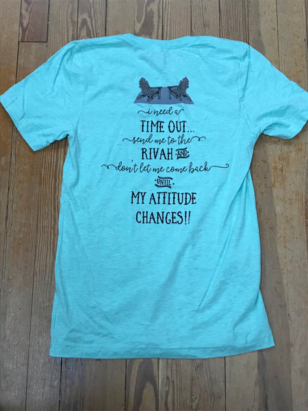 Send Me to the Rivah Southern Recollection Tee