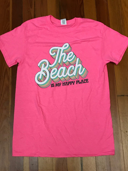 The Beach is My Happy Place Tee