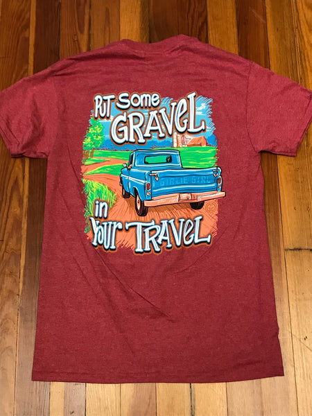 Put Some Gravel in Your Travel Tee