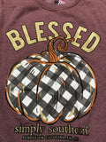 Blessed Pumpkin Simply Southern Crew Sweatshirt