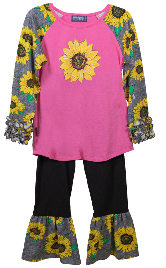 Southern Belle Sunflower Outfit