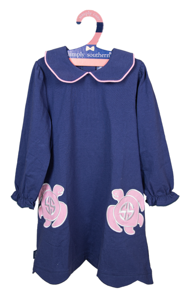 Simply Southern Embroidered Toddler Dress
