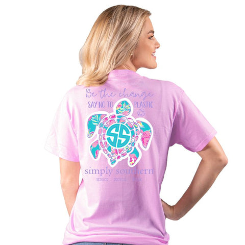 Be the Change Save the Turtles Simply Southern Tee