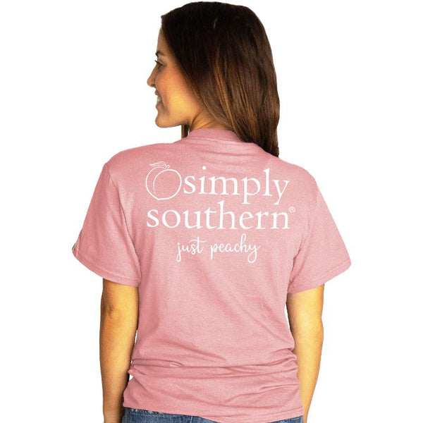 Just Peachy Simply Southern Tee