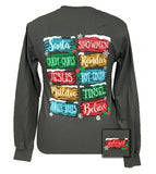 Things I Love About Christmas Long Sleeve Tee