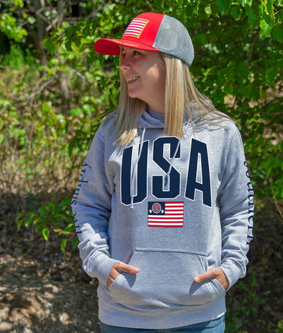 USA Simply Southern Soft Hoodie