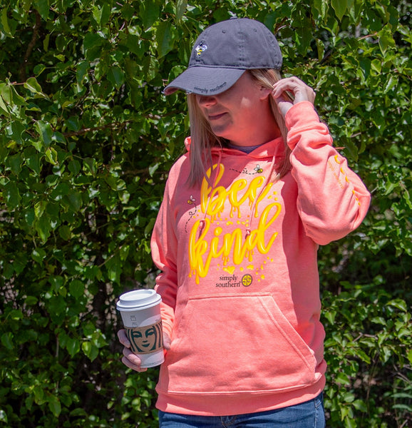 Bee Kind Simply Southern Soft Hoodie