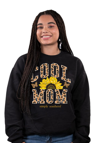 Cool Mom Simply Southern Crew Sweatshirt