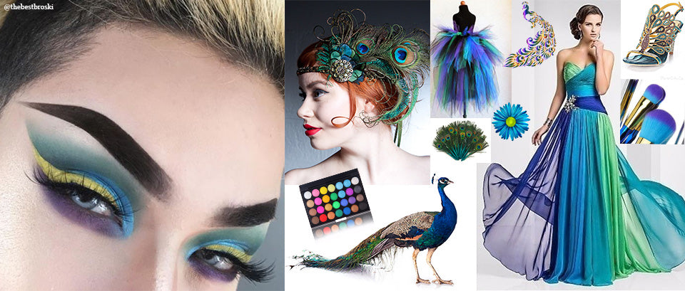 peacock makeup inspired thebestbroski keller international