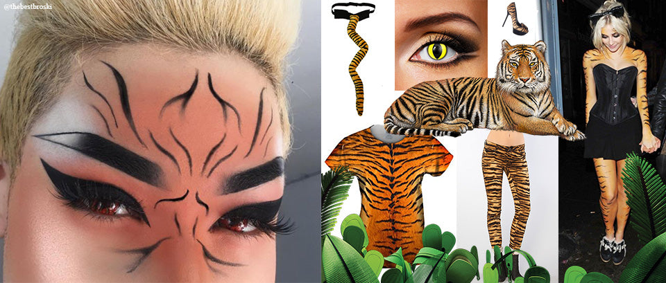 Tiger Makeup thebestbroski instagram keller international