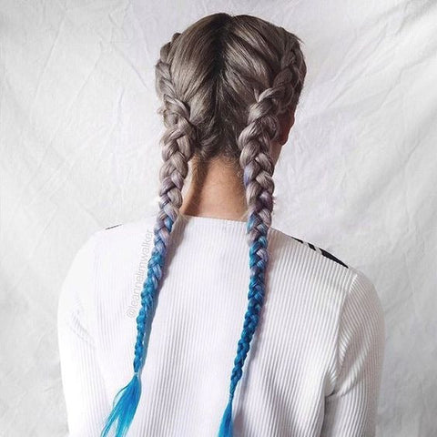 French plaiting