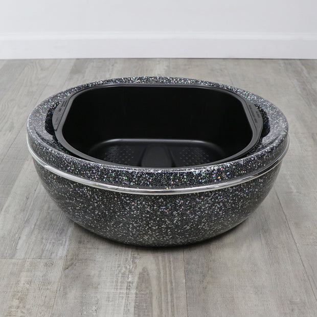 Belava Glitter Pedicure Bowl
