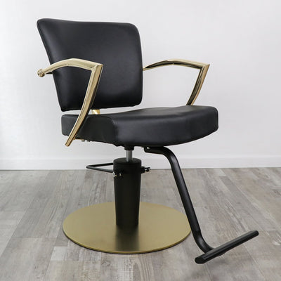 Manhattan Gold Salon Chair