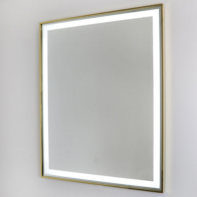 Manhattan Gold LED Mirror