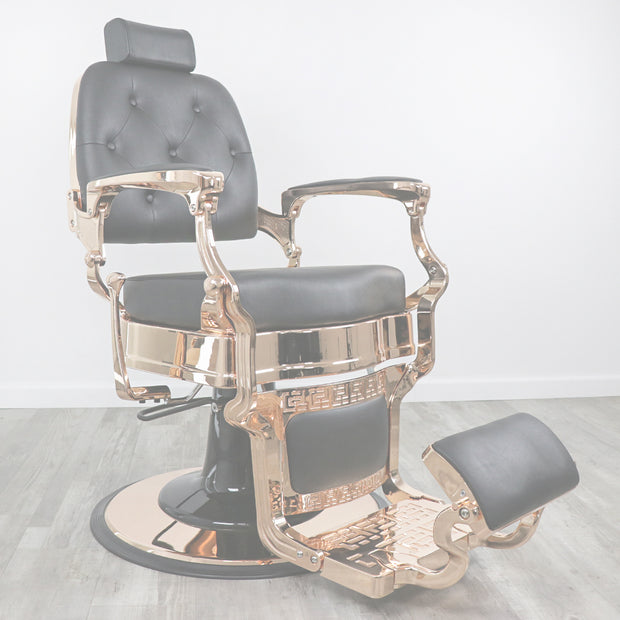 Knockout Rose Gold Barber Chair