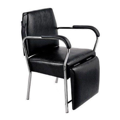 Duality Shampoo Chair with Leg Rest by Keller International