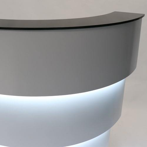 Glow LED Reception Desk by Keller International