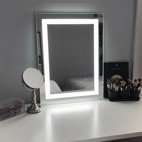 Led Lighted Makeup Mirror Salon Mirrors Keller