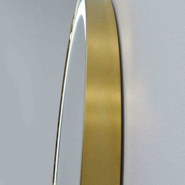 Phoenix LED Gold Mirror by Keller International