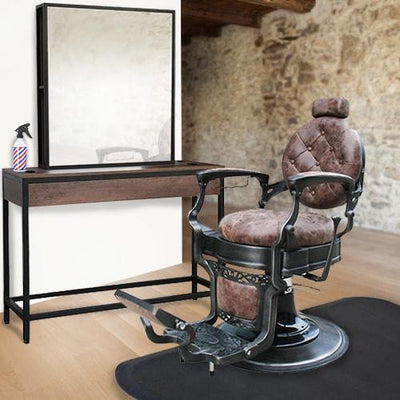 Rustic Barber Equipment Package Deal by Keller International