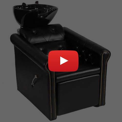 Saloon Shampoo Backwash Unit by Keller International