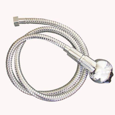 Silver Shower Hose + Silver Shower Head by Keller International