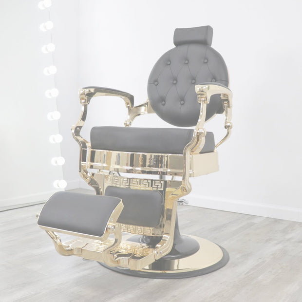 Toronto Gold Barber Chair