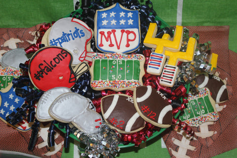 Ava's Exclusive 'Game Day' Sugar Cookie Set