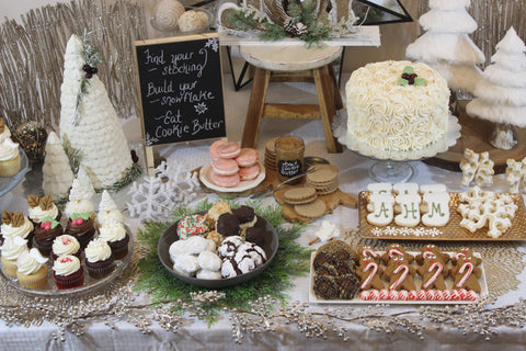 Ava's Holiday Dessert Bar 2017 - Extravaganza
