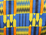 African Cotton Print #1442 - Blue - Golden D'or Fabrics - 1