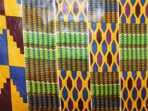 African Cotton Print #2510