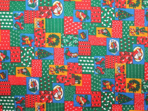 Christmas Patchwork Cotton -  - Golden D'or Fabrics