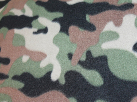 New Camo Fleece -  - Golden D'or Fabrics