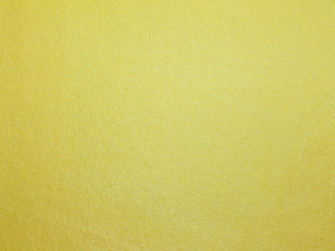 Bright Yellow Fleece -  - Golden D'or Fabrics