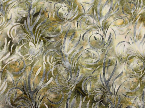 Wisp Cotton Batik - Golden D'or Fabrics