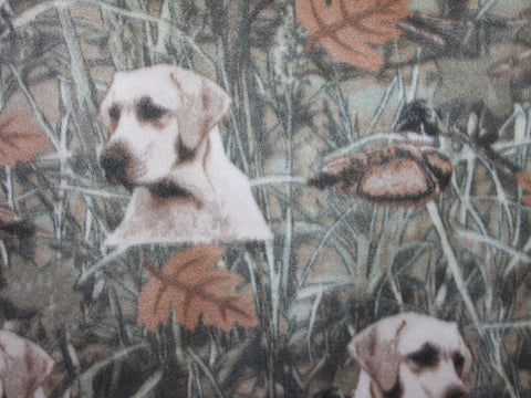 Duck Hunt Fleece -  - Golden D'or Fabrics