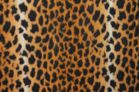 Cheetah Fleece - Golden D'or Fabrics