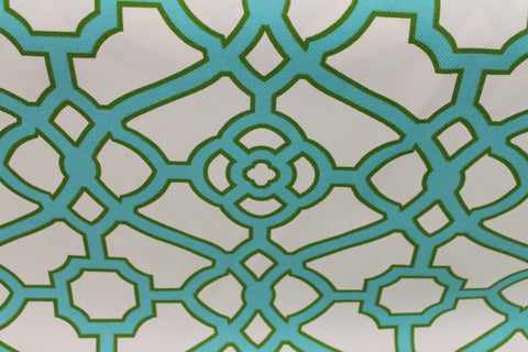 Fretwork Jade -  - Golden D'or Fabrics