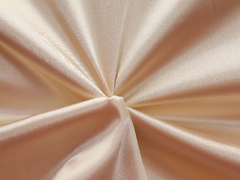 Lycra Stretch Satin- Champagne
