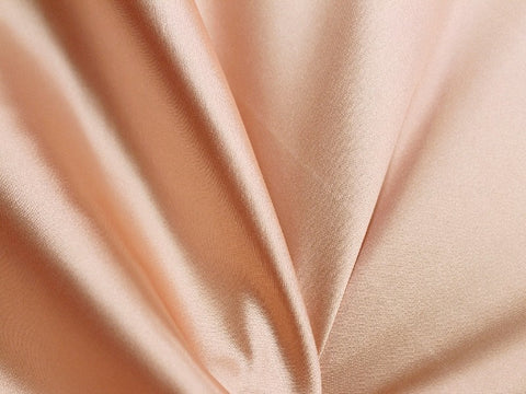 Lycra Stretch Satin- Cinnamon