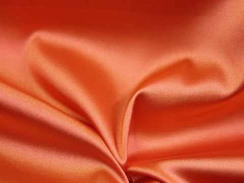 Lycra Stretch Satin- Salmon