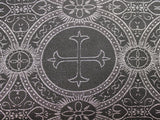 Clergy Brocade - Metallic Black/Silver - Golden D'or Fabrics - 6