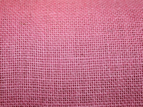 Burlap- Pink -  - Golden D'or Fabrics