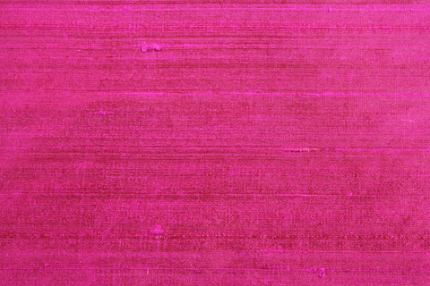 Silk Shantung- Fuchsia -  - Golden D'or Fabrics