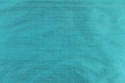 Silk Shantung- Turquoise -  - Golden D'or Fabrics