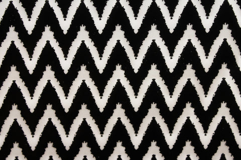 Chevron Spandex - Golden D'or Fabrics